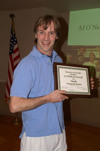 2008 CFF Community Partner: A.J. O'Neil